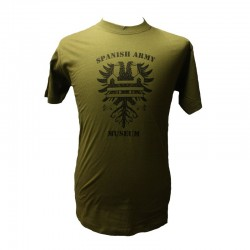 Camiseta Spanish Army Museum Caqui BE