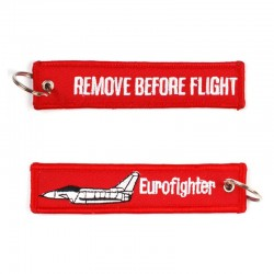 Llavero Remove before Flight Eurofighter Typhoon