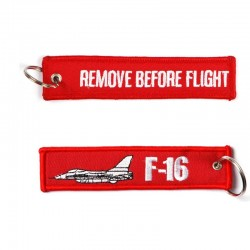 Llavero Remove before Flight F-16