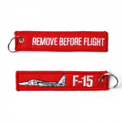 Llavero Remove before Flight F-15