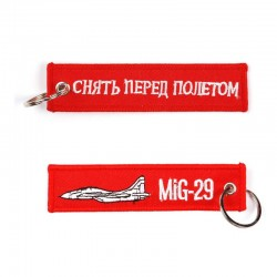 Llavero Remove before Flight MIG-29