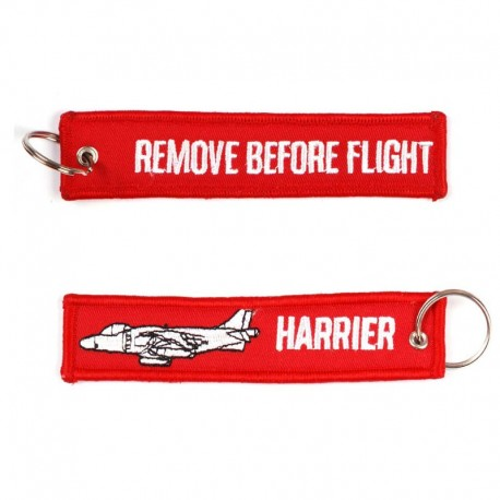 Llavero Remove before Flight Harrier