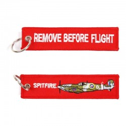 Llavero Remove before Flight Spitfire