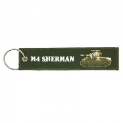 Llavero Tipo Remove before Flight - M4 Sherman