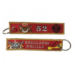 Llavero Remove before Flight - Regulares Melilla