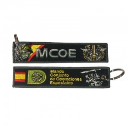 Llavero Remove before Flight - Mando Conjunto de Operaciones Especiales (MCOE)