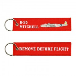 Llavero Remove before Flight - B-25 Mitchell