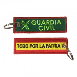 Llavero Remove before Flight - Guardia Civil - Todo por la patria