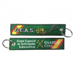 Llavero Remove before Flight - Guardia Civil - GEAS (Grupo Especial de Actividades Subactuáticas)