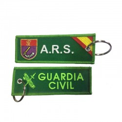 Llavero Remove before Flight - Guardia Civil - Agrupación de Reserva y Seguridad (ARS)