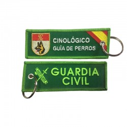 Llavero Remove before Flight - Guardia Civil - Cinológico