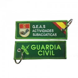 Llavero Remove before Flight - Guardia Civil Mod 2 - GEAS (Grupo Especial de Actividades Subactuáticas)