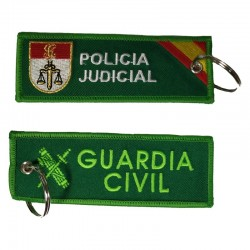 Llavero Remove before Flight - Guardia Civil - Policía Judicial