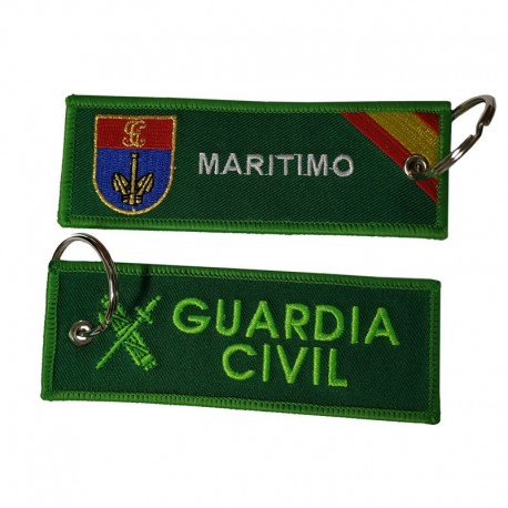 Llavero Remove before Flight - Guardia Civil - Servicio Marítimo