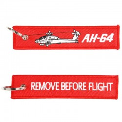 Llavero Remove before Flight AH-64