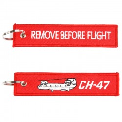 Llavero Remove before Flight CH-47