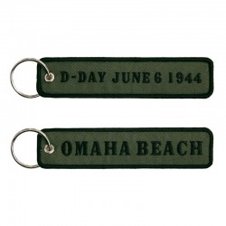 Llavero Remove before Flight Omaha beach Normandía