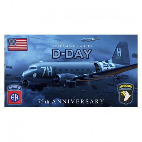 Toalla D DAY Screaming Eagles