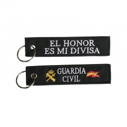 Llavero Guardia Civil tela