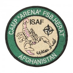 Escudo / Parche ISAF Afghanistan