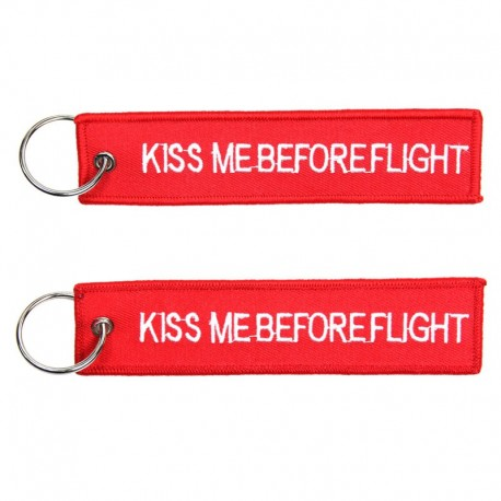 Llavero Kiss me Before Flight