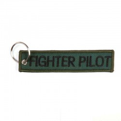 Llavero Flighter Pilot Verde