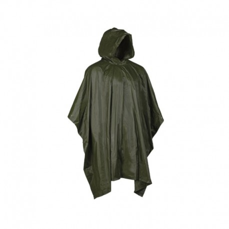 Poncho Impermeable Verde